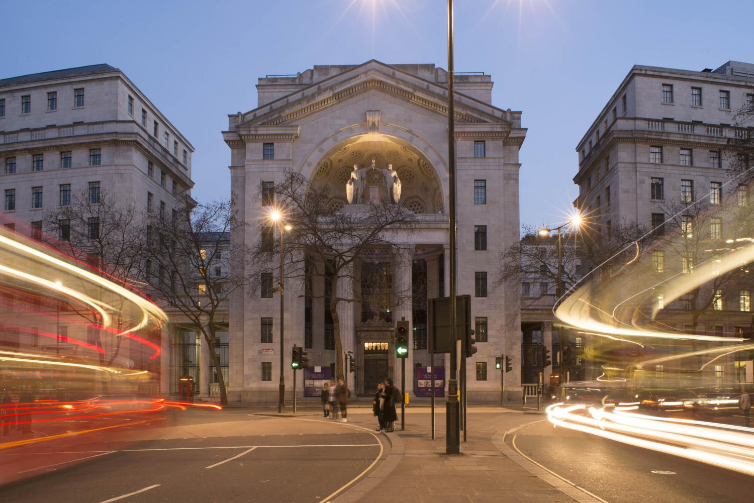 Bush House street view - Image credit Nick Wood
